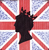 Union Jack Queen Fine Art Print