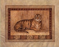 "Tiger - mini by Pamela Gladding - 10"" x 8"""