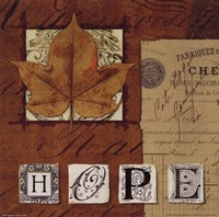 "Natures Journal - Hope by Wild Apple Studio - 10"" x 10"""