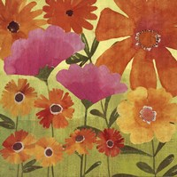 "Spring Fling I by Veronique Charron - 18"" x 18"", FulcrumGallery.com brand"