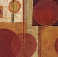 """Geo Tea I by Sue Schlabach - 18"""" x 18"""""""