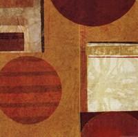 """Geo Tea II by Sue Schlabach - 18"""" x 18"""""""
