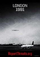"Battle: Los Angeles - London 1991 - 11"" x 17"""