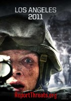 "Battle: Los Angeles 2011 - 11"" x 17"""