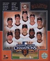 """San Francisco Giants 2010 National League Champions Composite - 8"""" x 10"""""""