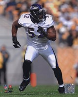 Ray Lewis 2010 Action On The Run Fine Art Print
