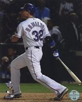 "Josh Hamilton Game Three of the 2010 World Series Home Run - 8"" x 10"""
