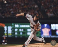 Tim Lincecum Game Five of the 2010 World Series - Baseball Fine Art Print