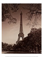 """An Afternoon Stroll - Paris II by Jeff Maihara - 12"""" x 16"""""""