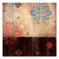 "Damask Patterns I by Wani Pasion - 20"" x 20"""