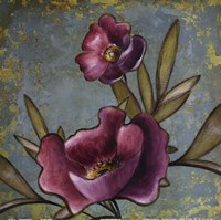 Purple Poppies Fine Art Print