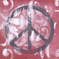 "Peace by Hakimipour - Ritter - 12"" x 12"""