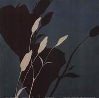 "Fleur'ting Silhouettes - blue by Lanie Loreth - 12"" x 12"""
