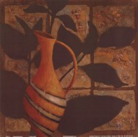 Little Striped Vase Fine Art Print