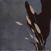 "Fleur'ting Sihlouettes II by Lanie Loreth - 6"" x 6"""