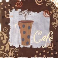 """Cafe by Rebecca Lyon - 6"""" x 6"""""""