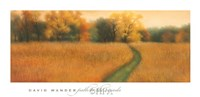 "Path to the Woods by David Wander - 40"" x 20"""