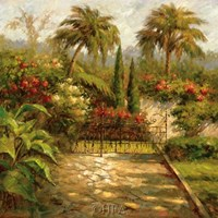 Plantation Gate Fine Art Print