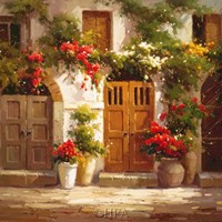 Doorways to the Garden Fine Art Print