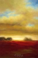 "Red Prairie by Paul Bell - 26"" x 38"""