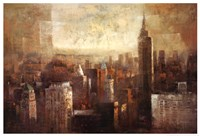 """Towers of Bronze and Gold by Paul Bell - 37"""" x 25"""" - $25.99"""