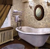 Farmhouse Bath I Framed Print