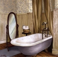 Farmhouse Bath II Fine Art Print