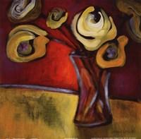 "Poppies in a Vase by Lanie Loreth - 12"" x 12"""