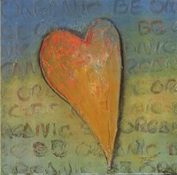 Be Organic Fine Art Print