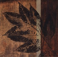 Summer Leaf I Framed Print