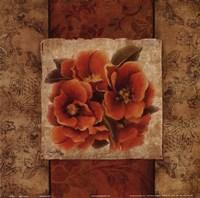 Spice Flower I Framed Print