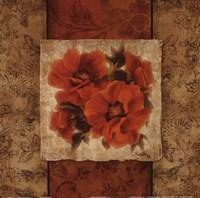 "Spice Flower II by Elizabeth Medley - 12"" x 12"""