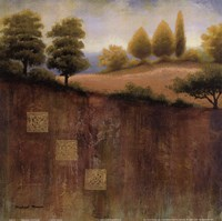 """September Countryside by Michael Marcon - 12"""" x 12"""""""