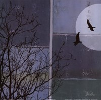 """Full Moon II by Patricia Pinto - 12"""" x 12"""" - $9.99"""
