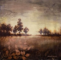 """Distant Light Square by Michael Marcon - 12"""" x 12"""", FulcrumGallery.com brand"""