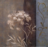 "Delicate Beauty in Blue II by Lanie Loreth - 12"" x 12"", FulcrumGallery.com brand"