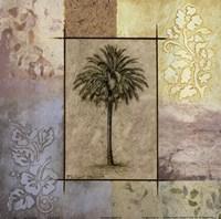 "Palm Woodcut II by Michael Marcon - 12"" x 12"""