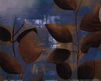 "Eco Blue II by Patricia Pinto - 10"" x 8"""