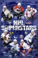 "NHL Superstars 2010 - 22"" x 34"", FulcrumGallery.com brand"