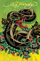 Snake Wall Poster