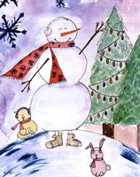 Yet Another Snowman Fine Art Print