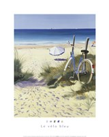 The Blue Bicycle Fine Art Print