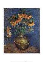 "Fritillaries by Vincent Van Gogh - 20"" x 28"""