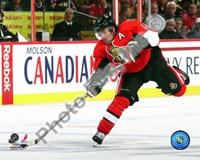 Mike Fisher 2010-11 Action Fine Art Print