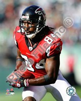 Roddy White 2010 Action Fine Art Print