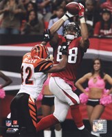 Tony Gonzalez 2010 Action Fine Art Print