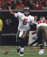 Josh Freeman 2010 Action Fine Art Print