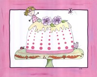 Sophie and the Tea Cake Fine Art Print