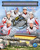 Washington Capitals 2010 Winter Classic Portrait Plus Fine Art Print