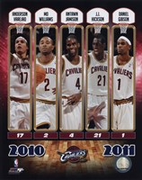 """8"""" x 10"""" Cleveland Cavaliers Pictures"""